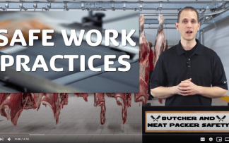BUTCHER AND MEAT PACKER SAFETY