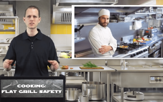 COOKING: FLAT GRILL SAFETY