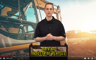 DRIVING TRACTORS AND BACKHOES