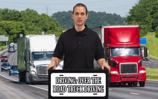 DRIVING: ROAD TRUCK DRIVING