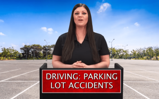 DRIVING: PARKING LOT ACCIDENTS